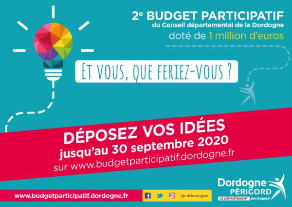 Budget participatif, 2ème édition!