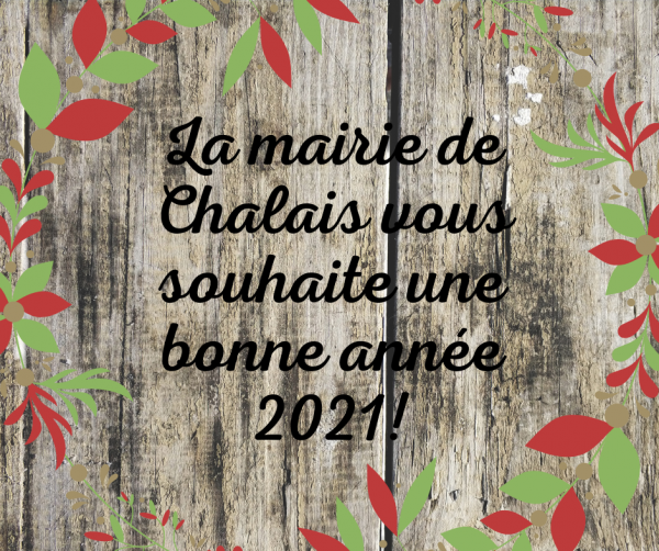 Bonne année à tous!