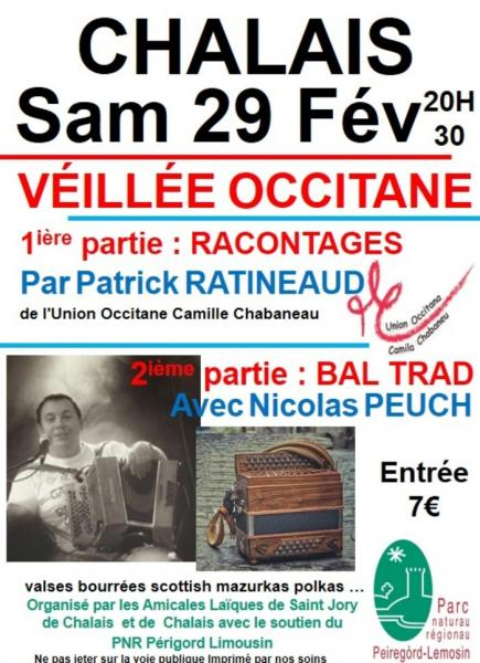 Veillée occitane le 29 février